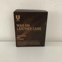 U Wax on Leather care