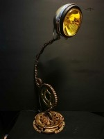 Steampunk lamp  Brett