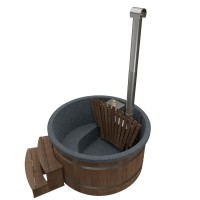 Welltub Thermowood Trap rond breed