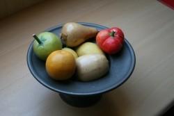 Tinnenfruitschaal