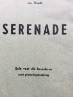 Serenade Alt Sax + Piano