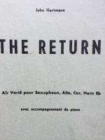 The Return Alt Sax + Piano