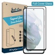Just in Case Samsung Galaxy S21 Full Cover Tempered Glass -…