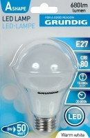 LED lamp, warm wit, 8W  Alleen deze week 10% extra korting