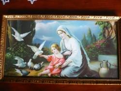 Maria met kind en duiven, naar Giovanni.