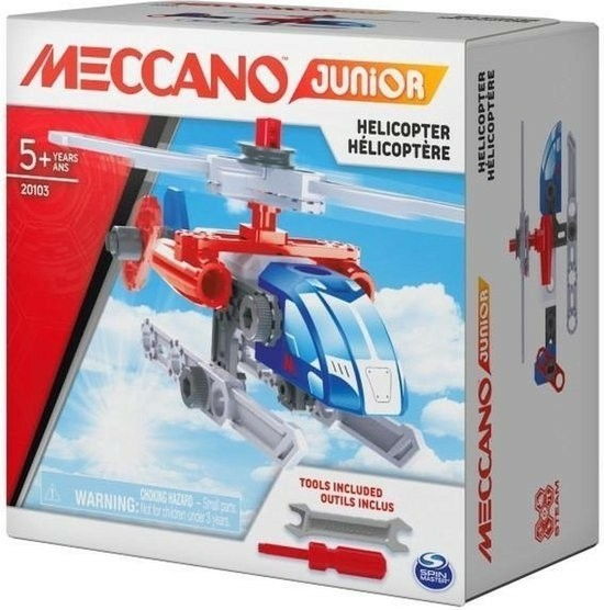 Meccano - Junior Action Builds - Helicopter
