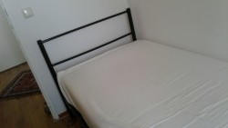 Metalen bed incl matras