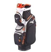 Mizuno BR-D4C Cartbag - Black/Grey/Orange -
