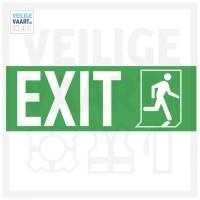 Exit pictogram   10x30 CM