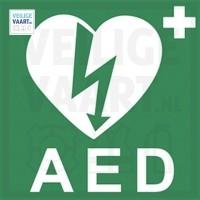 AED pictogram   10x10 CM