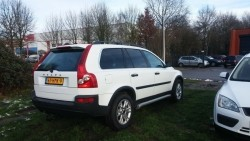 Youngtimer, Volvo XC90 D5 163PK automaat, 7 persoons, wit
