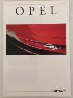 Folder - OPEL - 1993