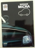 Folder/brochure - NISSAN Micra - 1993