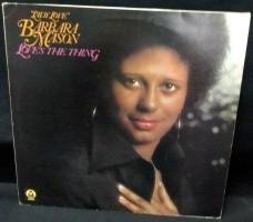 LP Barbara Mason,Love's The Thing,BDLP 4032, GB(p),z.g.a.n.