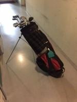 golfbag met clubs, set te koop