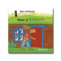 Kikker - Waar is Kikker - Flapjesboek - Max Velthuijs