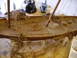 Uw boot/schip laten opknappen door een ervaren modelbouwer