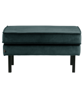 Hocker rodeo velvet Teal