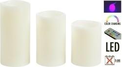 LED kaarsenset met afstandsbediening  Alleen deze week 10%…
