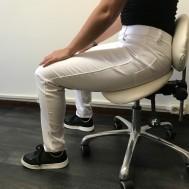 Praktijkbroek Katoen wit36