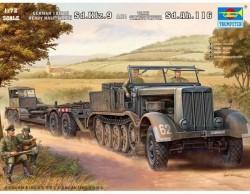 Trumpeter   07275   German 18 ton Heavy Halftrack Sd.Kfz.9…