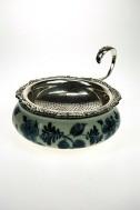 Oud zilveren theezeefje