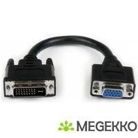StarTech.com 20cm DVI naar VGA Verloopkabel DVI-I male naar…
