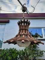 Te koop bamboe hanglamp