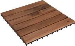 Terrastegels acaciahout - set van 9 - 30x30  Alleen deze we…