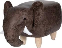 Poef olifant - voetenbank  Alleen deze week 10% extra korti…