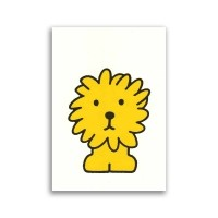 Dick Bruna ansichtkaart - leeuw