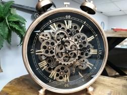 Klok draaiend uurwerk 50cm hoog