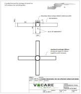 Lampenrek / wielkroon 4 voudig buis 60mm  t.b.v. montage sc…
