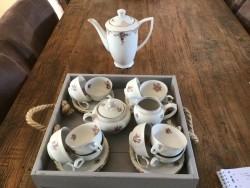 Oud Koffieservies porselein