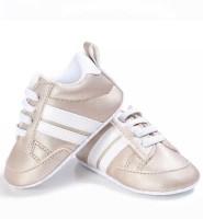 Baby sneakers sport goud Wit