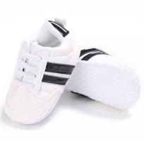 Baby sneakers sport wit Zwart