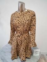 Mini Dress Beige