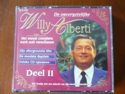 Willy Alberti O Mooie Westertoren, de Gimlach..2CD set.