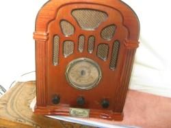 Nostalgische radio/cassettespeler