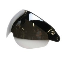 Flip up 3 button goggle silver reflectionStandaard