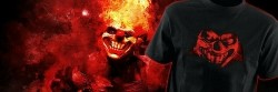 Twisted metal Contest Playstation T-Shirt-L NEW