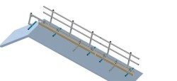 Complete set 3 meter Roof Shelter kopgevelbeveiliging