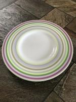 Arzberg borden, 8 stuks (doorsnee 31,5 cm)