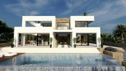 Spanje/Benissa/unieke designvilla met zeezicht