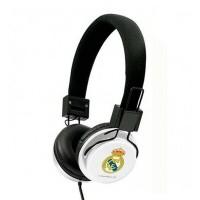 Hoofdtelefoon met Hoofdband Real Madrid C.F. Wit Zwart