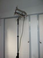 theaterlamp op statief