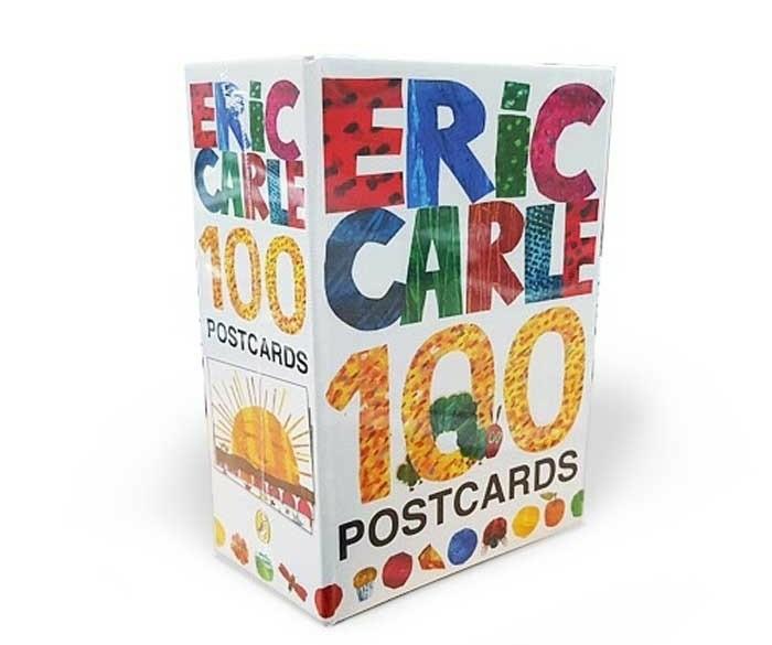 Eric Carle ansichtkaarten - 100 wenskaarten collectie