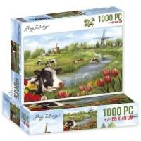 Jigsaw puzzel 1000 pc - the netherlands