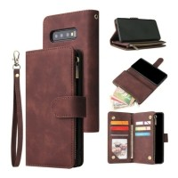 Samsung Galaxy S21 Ultra - Leren Wallet Flip Case Cover Hoe…