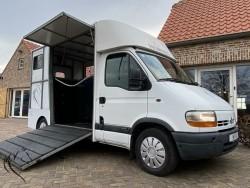 Paardenwagen - paardenvrachtwagen RENAULT MVV HORSETRUCKS